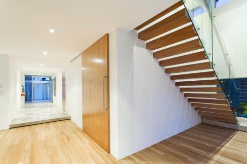 Staircase in modern house